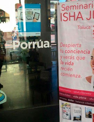 Isha - por primera vez en Toluca