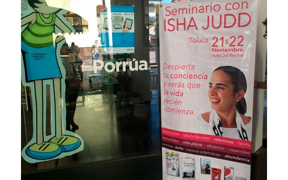 Isha por primera vez en Toluca: «Despierta tu conciencia y verás que la vida recién comienza»