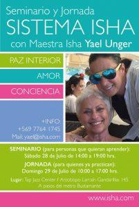 Seminario en Santiago con Yael Unger