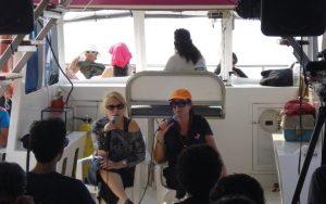 Isha – atestiguando en el mar con isha1