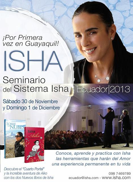 Isha por Primera vez en Guayaquil – Ecuador