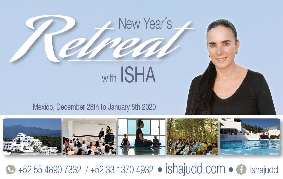 New Year retreat with Isha Judd