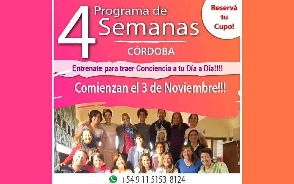 Programa de 4 semanas – Córdoba