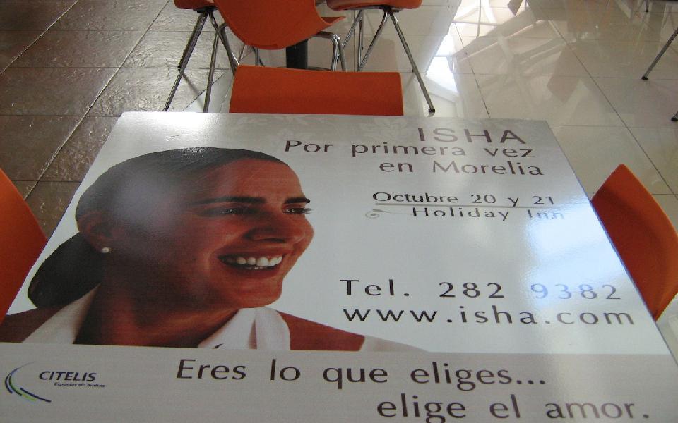 Morelia recibe a Isha