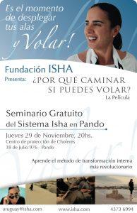 Isha – próximamente fundación Uruguay
