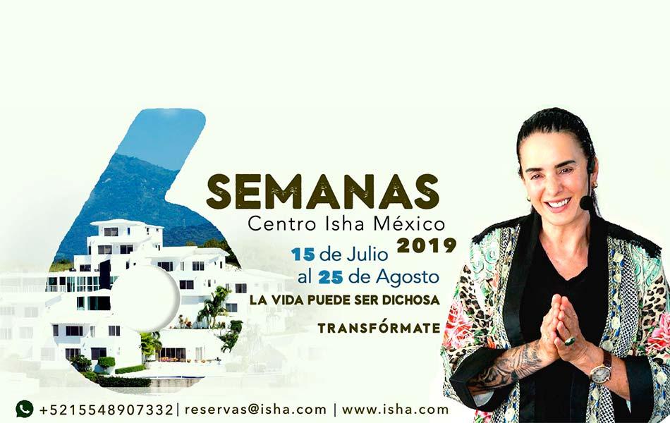 Isha - Seis Semanas 2019
