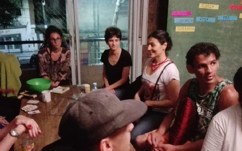 Labor social – Sistema Isha en Buenos Aires, Argentina