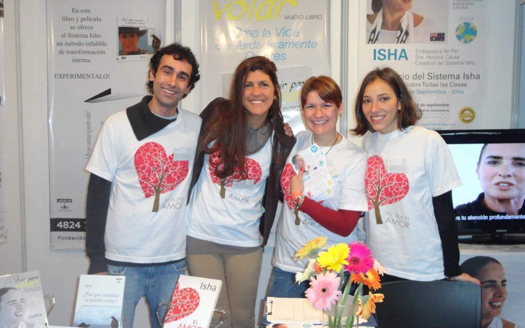 ISHA en su paso por Buenos Aires y presentación en FEVIDA