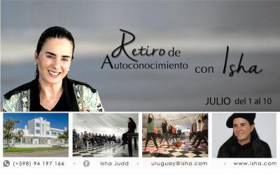 Retiro con Isha del 1 al 10 de Julio en Uruguay