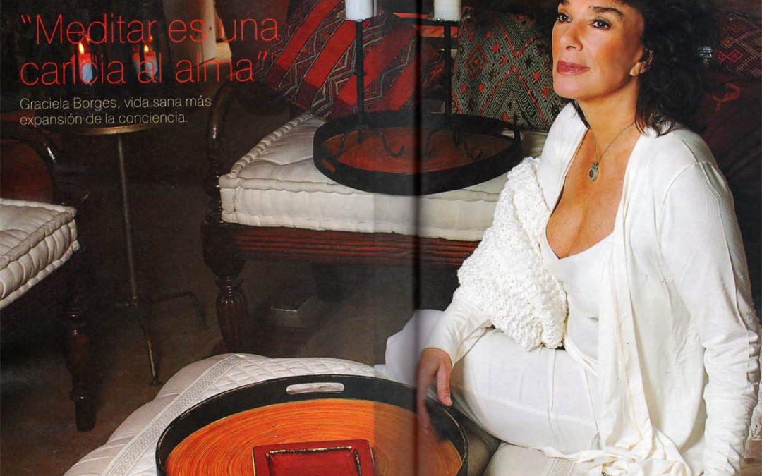 Revista Caras Argentina – Publica a Graciela Borgues hablando de su experiencia con el Sistema Isha