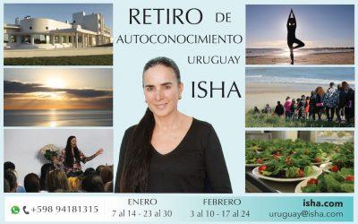 Retiros de Verano 2020 con Isha en Uruguay