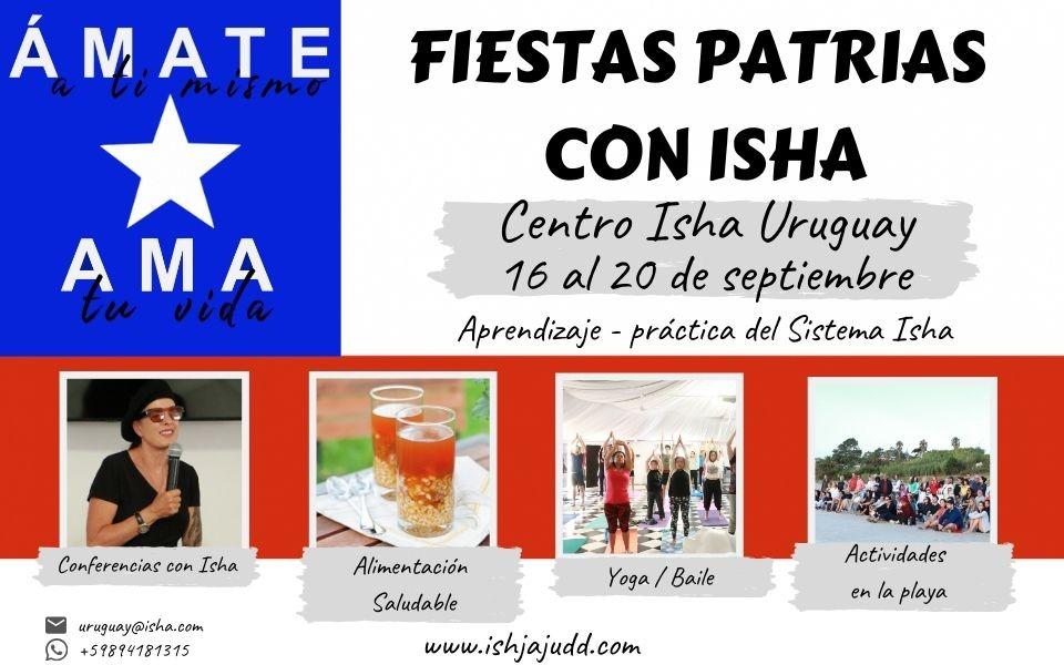 Fiestas Patrias Chilenas en el Centro Isha Uruguay