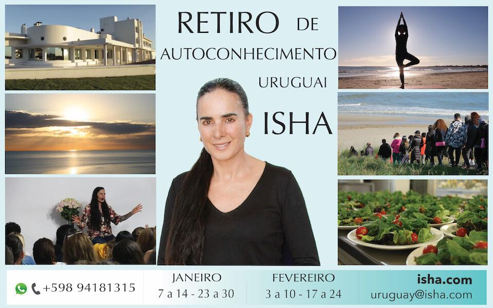Retiro de Verão 2020 com Isha no Centro Isha Uruguai