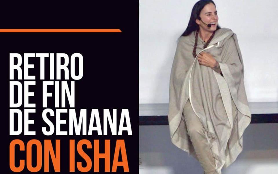 Retiro con Isha en Barcelona del 27 al 29 de Septiembre 2019