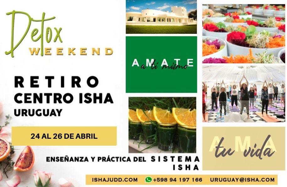 Fin de semana Detox con maestros en el Centro Isha Uruguay