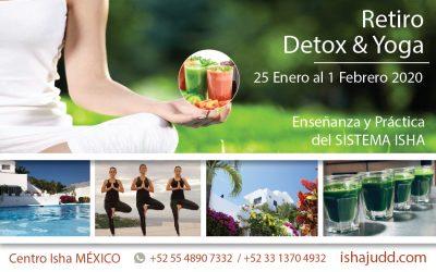 Retiro de Detox en el Centro Isha México del 25 de Enero al 1 de febrero