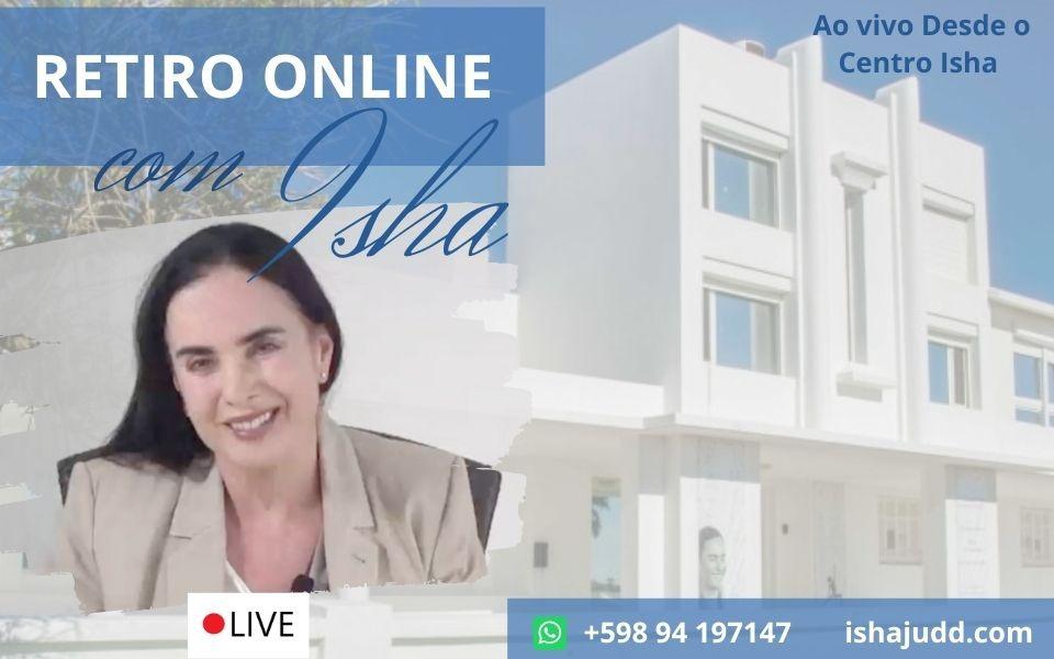 Primeiro Retiro ao Vivo Online com Isha Judd