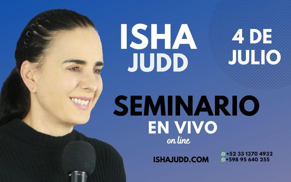 Seminario y práctica en Vivo Online con Isha