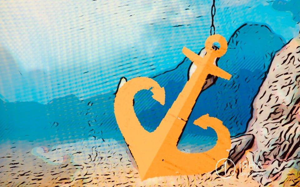 O amor é como uma âncora permanente