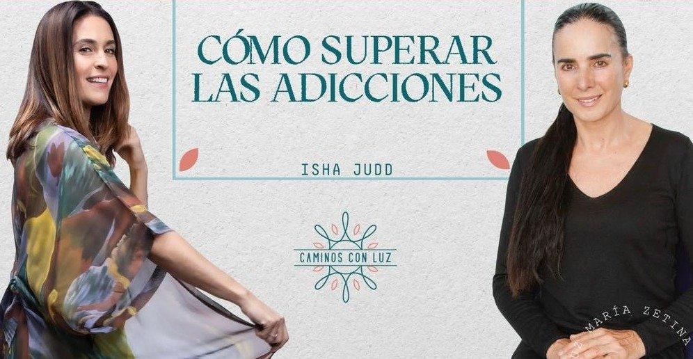 Entrevista a Isha con Luz Maria Zetina sobre «Cómo superar las adicciones»