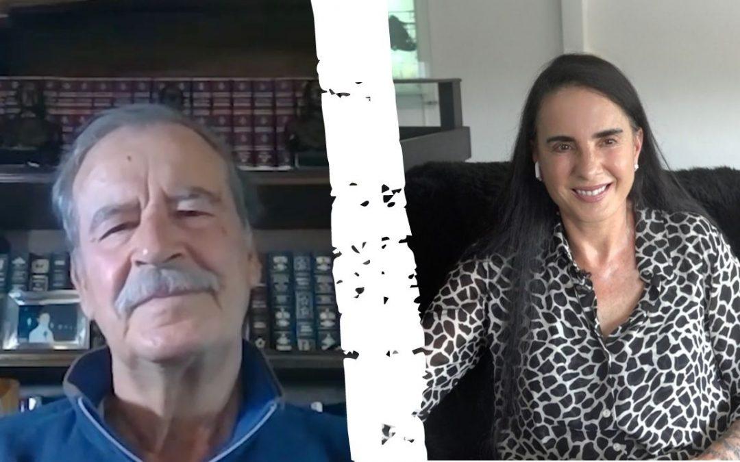 Entrevista realizada a Isha por el ex Presidente de México Vicente Fox