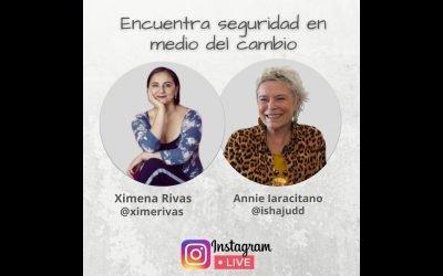 Encuentra seguridad en medio del cambio. Annie, Durga con Ximena Rivas en Instagram.