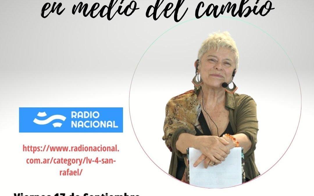Entrevista Encuentra seguridad en medio del cambio a Annie en radio nacional Argentina